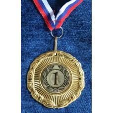Медаль лучи-колос