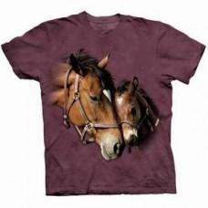 Футболка Лошадь с жеребенком