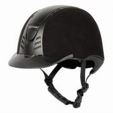 Шлем (каска) защитный бархатный со сменной вставкой