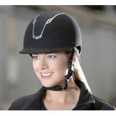 Шлем (каска) бархатный с регулятором Грас
