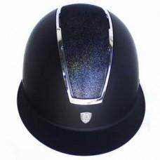 Шлем (каска) ABS Глиттер с широким козырьком